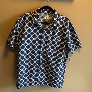 NWT button down men's shirt